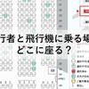 同行者と飛行機に乗る場合どこに座る?〜同行者との座席距離は?〜
