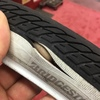 電動自転車のタイヤが切られてしまった。。。