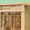 巴紋と線雲 シンプルだけど特徴はある定番三社の箱宮神殿