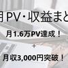 【はてなブログ】7月PV・収益まとめ~8ヶ月目でついに2万PV越え&月収5,000円!~