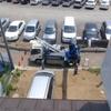 上尾市大谷本郷でアンテナ工事です。
