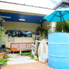 隠れ家的ガレージカフェ【Blue Line Garage Cafe18】テラスペットOK💛