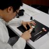 ローラン・フェリエ マスタークラス仕上げ編でブラックポリッシュを体験