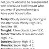 寒い週末になりそうです。