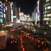 新宿の夜景 副都心 大ガード