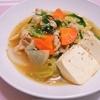 簡単!!豚バラ肉とたっぷり野菜のキムチ風煮込みの作り方