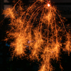 自粛の夏の線香花火