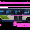 当ブログのバスの見方~!