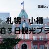 【北海道旅行】電車&バスで札幌・小樽を2泊3日で満喫!観光プランをご紹介