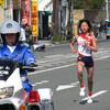 世界陸上で小林さんが走るのをたまたま見ること
