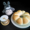 【たべもの】手ごねのちぎりパン(エンゼル型)