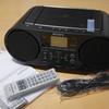 CD付ラジオSONY ZS-RS81BTを買った