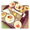 食レポ#036 イタリアに行く道中に予期せずカタールで朝食を食べたお話