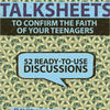 Free books to download on ipad 2 TalkSheets: 52 Lessons to Confirm the Faith of Your Teenagers (English literature)