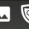 「ステータスバー/通知領域に常駐させたいけど、アイコンはいらないなぁー」って時