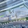 #332 江東区有明の新設バス営業所の建設状況 2019年12月現在