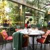 有名英国料理レストラン、The Ivy Chelsea Gardenで週末ブランチ。
