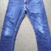 nudie jeans(ヌーディージーンズ) 1年6ヶ月 色落ちレポート