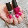 【爪】ピンクネイル2017〜時短べた塗りには鮮やかな色がオススメ〜