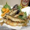 釣り場での怪我と最近のお魚料理