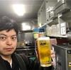 今日のビール指数は、70%。