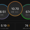 ジョギング10.70km・静岡前最後のペース走&岩本式メニュー10週間の総括