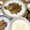 豚肉と大根の炒め煮・二日目のよせ鍋