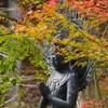 能登平等寺十三仏と紅葉