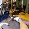 溶接の仕事以外あれこれ (電動ドライバーの修理、治具作製)
