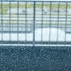 雨の滑走路
