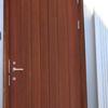 木製玄関ドアの塗装 DIY/自然塗料リボス タヤエクステリア