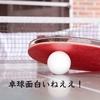 だめだ、世界卓球面白い