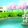 アニメけいおん!のモデルとなった豊小の噴水の石像、アニメと同じものが見つかる!!