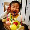 ちびちゃん4歳になりました。お誕生日おめでとう!