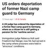 報道記事の見出し, be + to不定詞の意味合い(ナチス・ドイツ政権下の強制収容所の看守)