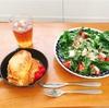 フレンチトーストとシャレオツサラダ