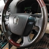 自動車内装修理#302 トヨタ/クラウン 革レザーハンドル/ステアリング 劣化・擦れ・表皮剥がれ・えぐれ補修