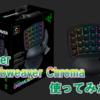 【Razer Orbweaver Chroma レビュー】ゲーミングキーパッドは本当に便利?PS4のフォートナイトに使える?検証してみた