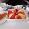 コロンボ→東京 スリランカ航空ビジネスクラス 機内食はフルーツが美味しい!