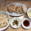 「ぎょうざの満洲 高円寺北口店」では、焼餃子と玄米のセットが431円(税込)と激安。