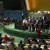 第74回総会本会議:14の加盟国を人権理事会に選出し、内部監視サービス担当の新事務次長を任命