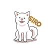 【犬イラスト】うちの子イラスト企画でフォロワーさんの愛犬を描きました。