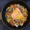 鮭のアクアパッツァのレシピ