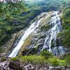 高いと涼しい屋久島(6) 近づける絶景・大川の滝