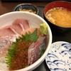 【福岡県福岡市】長浜鮮魚市場 市場会館の魚がし「金目鯛定食」と「いくら海鮮丼定食」