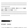 2019東京マラソン抽選結果
