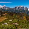 圧巻の山岳風景