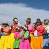 チチカカ湖で暮らすウル族の生活