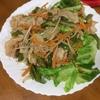 豚肉と野菜のオイスターソース炒め 栄養も豊富で塩味が利いて食べ易い