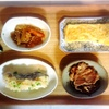 鱈おろし煮、生姜焼き、大根きんぴら、浅漬け、玉子焼き